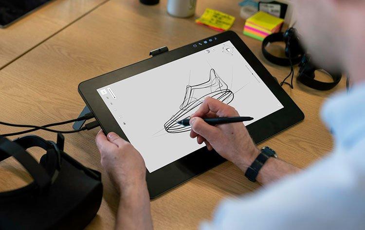 Tablette graphique avec écran